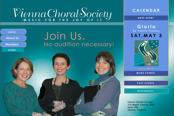 Choral Society website